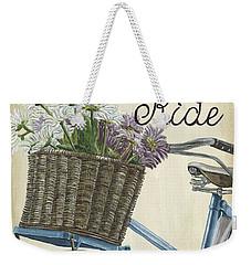 Enjoy The Ride Vintage Weekender Tote Bag