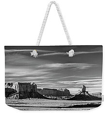 Weekender Tote Bag featuring the photograph Enjoying The Calm by Jon Glaser