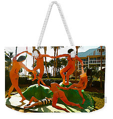 Enjoying  Key West Weekender Tote Bag