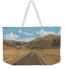 Enjoying The View Of The Peruvian Countryside Weekender Tote Bag