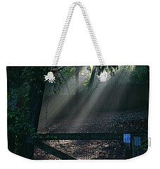 Enlighten Weekender Tote Bag