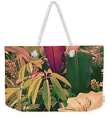 Enlightened Jungle Weekender Tote Bag
