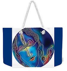 Enlightening Shiva Weekender Tote Bag