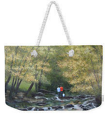 Eno River Afternoon Weekender Tote Bag