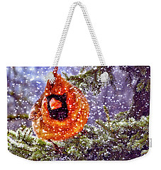 Enough Of This White Stuff Weekender Tote Bag by Diane Schuster