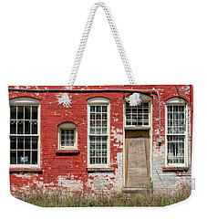 Weekender Tote Bag featuring the photograph Enough Windows by Christopher Holmes