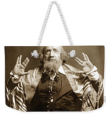 Weekender Tote Bag featuring the photograph Enrico Caruso by Granger