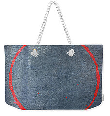 Weekender Tote Bag featuring the digital art Enso 2017-14 by Julie Niemela