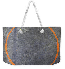 Weekender Tote Bag featuring the digital art Enso 2017-20 by Julie Niemela
