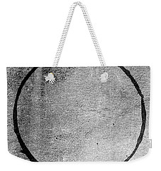 Weekender Tote Bag featuring the digital art Enso 2017-24 by Julie Niemela