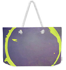 Weekender Tote Bag featuring the digital art Enso 2017-5 by Julie Niemela