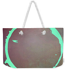 Weekender Tote Bag featuring the digital art Enso 2017-6 by Julie Niemela