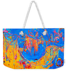 Entangled No. 3 A Reflection Of Life Weekender Tote Bag