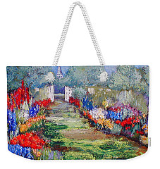 Enter His Gates Weekender Tote Bag by Gail Kirtz
