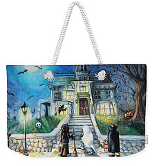 Enter If You Dare Weekender Tote Bag