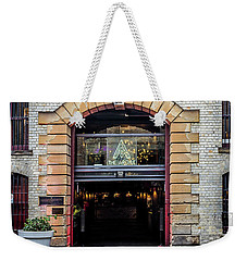 Weekender Tote Bag featuring the photograph Enter by Perry Webster