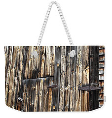 Enter The Barn Weekender Tote Bag by Kerri Mortenson