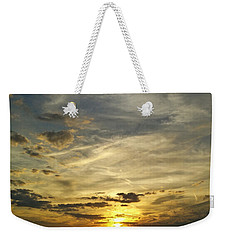 Weekender Tote Bag featuring the photograph Enter The Evening by Robert Knight