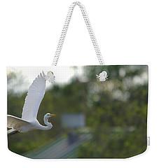 Enter The Great Egret 4 Digitalart Weekender Tote Bag