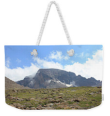 Weekender Tote Bag featuring the photograph Entering The Boulder Field by Christin Brodie