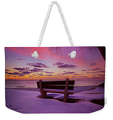 Weekender Tote Bag featuring the photograph Enters The Unguarded Heart by Phil Koch