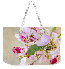 Weekender Tote Bag featuring the photograph Enticement by Betty LaRue