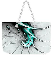 Weekender Tote Bag featuring the digital art Entity by Anastasiya Malakhova