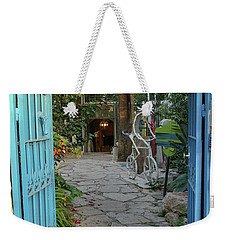 Entrance Door To The Artist Weekender Tote Bag by Yoel Koskas