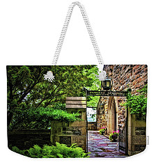 Entrance To Garrett Chapel Weekender Tote Bag