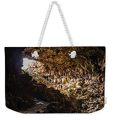 Entrance To Skull Cave Weekender Tote Bag by Marc Crumpler