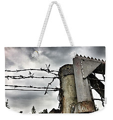 Entrance To The Old Ammunition Depot Of The Belgian Army Weekender Tote Bag