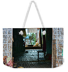 Entrance To Tonle Sap Home  Weekender Tote Bag