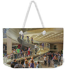 Entry Hall In The Louvre Museum Weekender Tote Bag