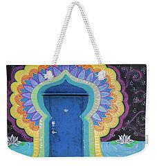 Entry Weekender Tote Bag
