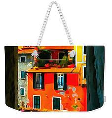 Entry Way Painting Weekender Tote Bag