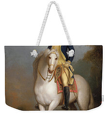 Equestrian Portrait Of George Washington Weekender Tote Bag by Rembrandt Peale