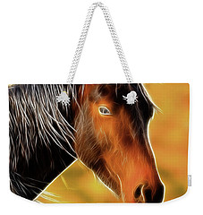 Equine Colors Weekender Tote Bag by Steve McKinzie