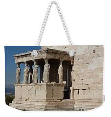 Erechteion With Nike Temple Weekender Tote Bag
