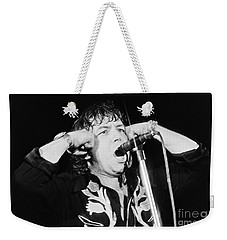Eric Burdon In Concert-1 Weekender Tote Bag