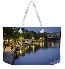 Erie Canal Stroll Weekender Tote Bag