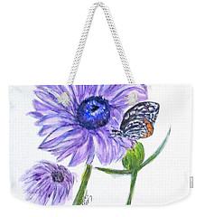 Erika's Butterfly Three Weekender Tote Bag