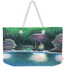 Eroding Away Weekender Tote Bag