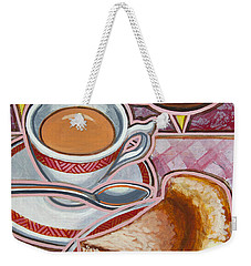 Eroica Britannia And Bakewell Pudding On Pink Weekender Tote Bag