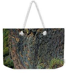 Erosion Of Flow Weekender Tote Bag