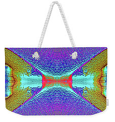Weekender Tote Bag featuring the photograph Erosion  by Tony Beck