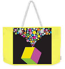 Eruption Weekender Tote Bag by Now