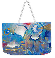 Eruption Of A Wish At The Fire Ceremony Weekender Tote Bag