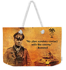 Erwin Rommel Tribute Weekender Tote Bag