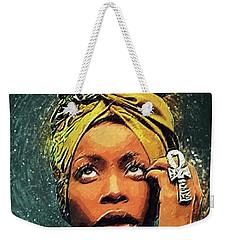 Erykah Badu Weekender Tote Bag