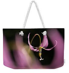 Erythronium Revolutum -365-35 Weekender Tote Bag